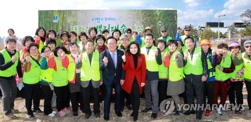 울산시·기업 6곳 '태화강 백리대숲 조성 앞장' 협약