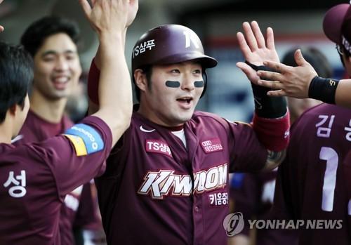 동점 득점 박병호