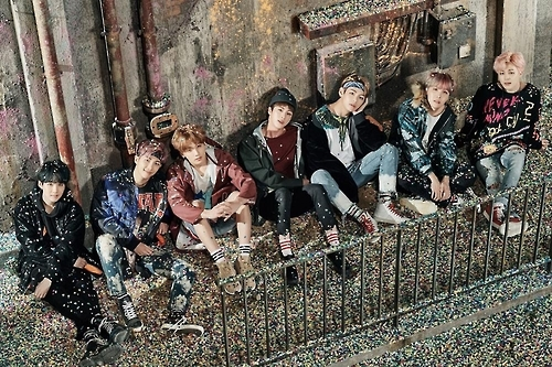 A promotional photo of BTS provided by Big Hit Entertainment. (Yonhap)