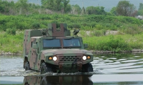 The South Korean military's new tactical vehicle in a photo provided by the Defense Acquisition Program Administration. (Yonhap.)