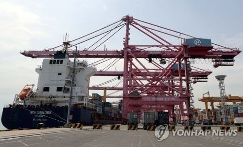 (2nd LD) S. Korea's exports up 13.4 pct on-year in May - 1