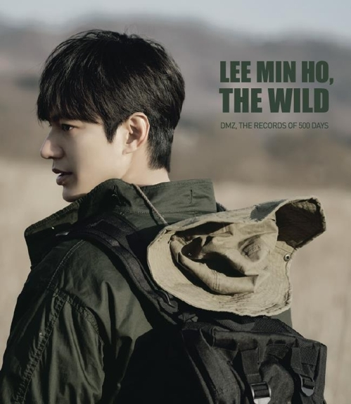 "A promotional image for Lee Min-ho's new photo book ""DMZ, The Records of 500 Days"" (Yonhap)"