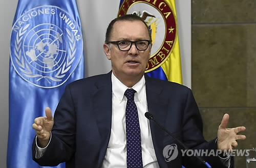 This photo, taken by AFP on Dec. 4, 2017, shows Jeffrey Feltman, the U.N. undersecretary general for political affairs, who will visit North Korea this week. (Yonhap)