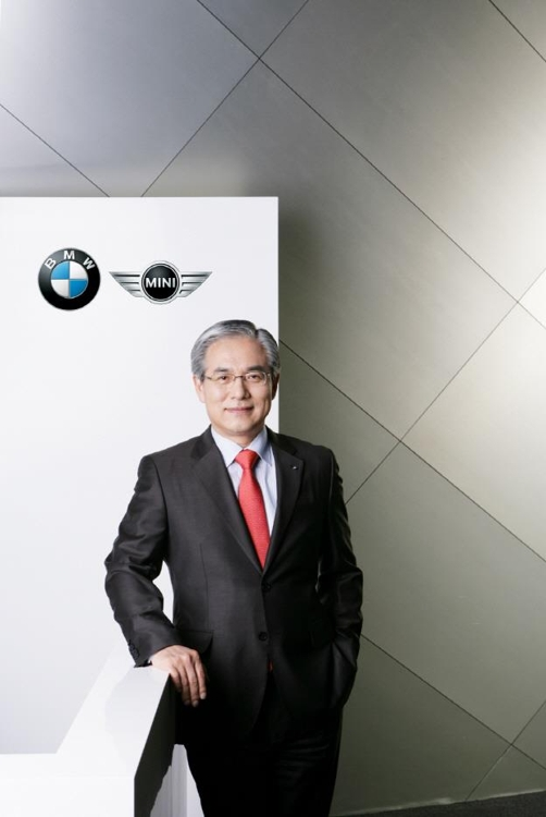 BMW Group Korea CEO Kim Hyo-joon (Photo courtesy of BMW Group Korea) (Yonhap)