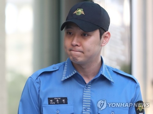 This file photo shows Park Yu-chun of JYJ. (Yonhap)