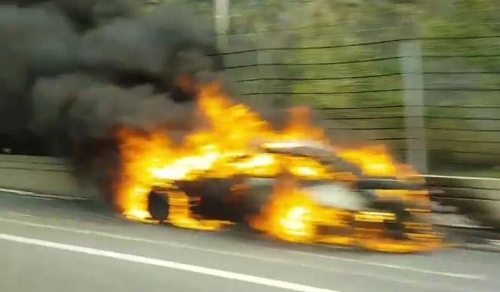 (LEAD) Another BMW sedan catches fire amid safety concerns over German brand - 1