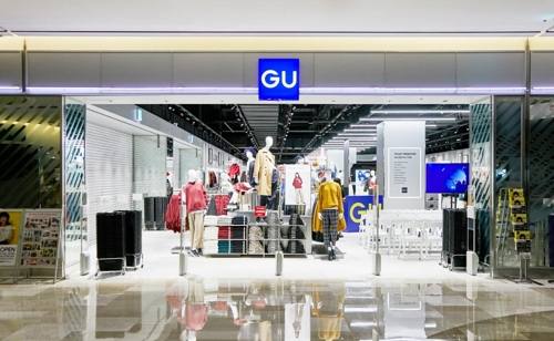 This undated photo, provided by FRL Korea Co., shows GU's first Korean store in Seoul. The shop opened on Sept. 14, 2018. (Yonhap)