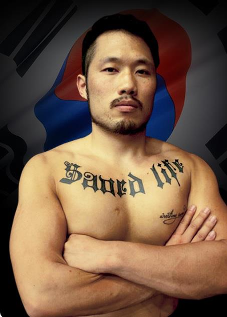 Kim Hyung-su's profile photo on the web site of Road FC