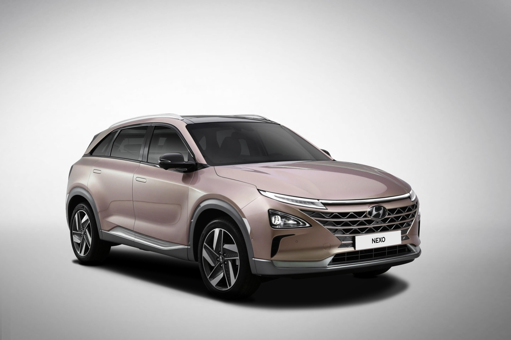 Hyundai Motor's NEXO hydrogen fuel-cell electric car (Yonhap)