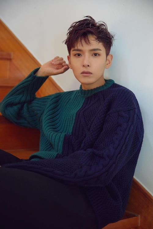 Super Junior member Ryeowook is shown in this photo provided by Label SJ. (Yonhap)