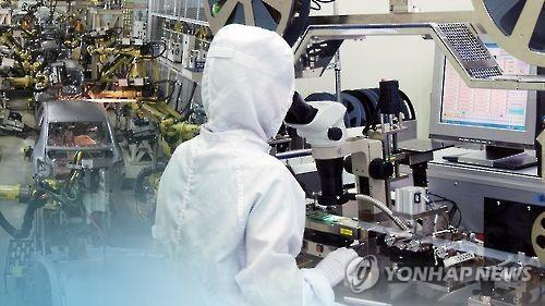 S. Korea's industrial output rebounds in October
