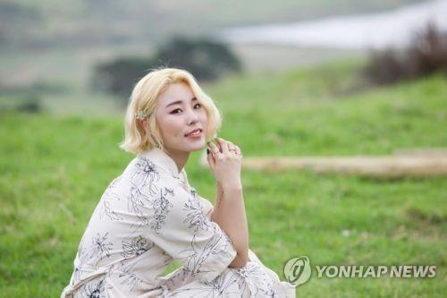 The file photo is of Wheein from the four-member girl group MAMAMOO. (Yonhap)