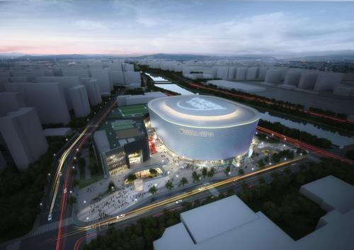This image is an artist's rendering of Seoul Arena, provided by the Seoul city government on Jan. 9, 2019. (Yonhap)