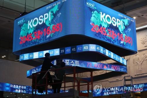 Foreigners turn to net sellers of Korean shares in 2018: data - 1