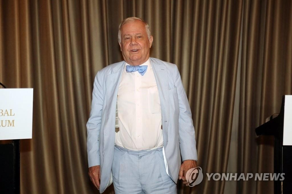 Jim Rogers, chairman of Rogers Holdings, in a file photo (Yonhap)