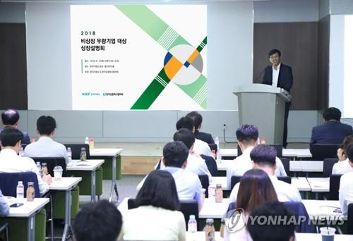 Value of S. Korea's IPOs surges 60 pct in Q1: data