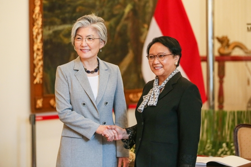 S. Korea, Indonesia agree to deepen bilateral ties in foreign ministerial talks