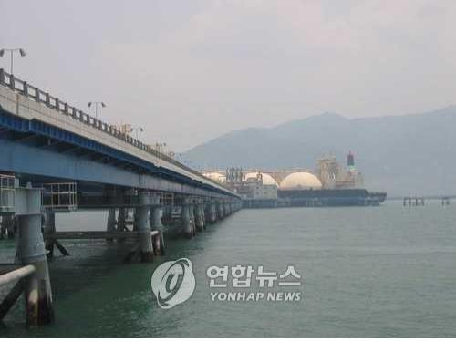 POSCO LNG terminal in Gwangyang, South Korea (Yonhap)