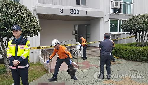Apartment arson suspect detained for stabbing five residents to death