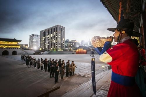 Special night tours of Gyeongbok Palace set for May and June