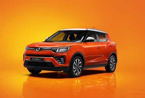 SsangYong Motor launches upgraded Tivoli SUV