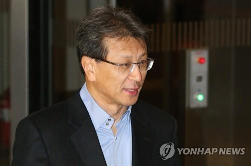 This undated file photo shows Chung Hyun-ho, president of Samsung Electronics. (Yonhap)