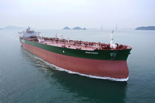 Samsung Heavy bags 147 bln-won order for 2 crude carriers