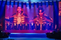 Super Junior performs 1st Saudi Arabian concert