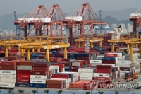 (2nd LD) Korea's exports set to decline for 8th straight month in July