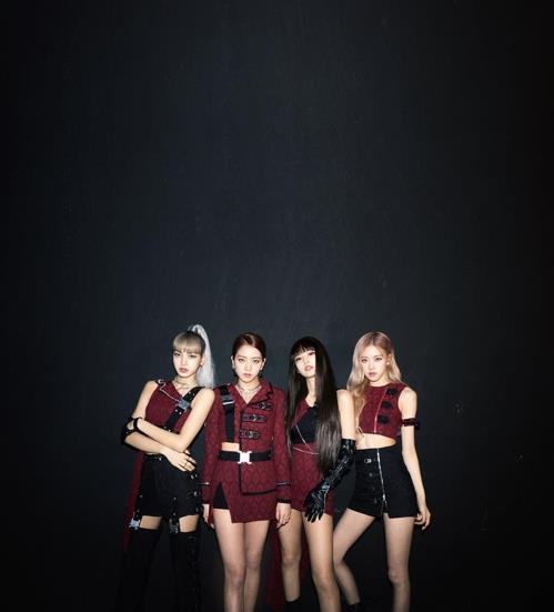 This photo of BLACKPINK is provided by YG Entertainment. (PHOTO NOT FOR SALE) (Yonhap)