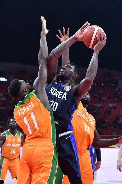 S  Korea defeats Cote d'Ivoire for 1st win at basketball