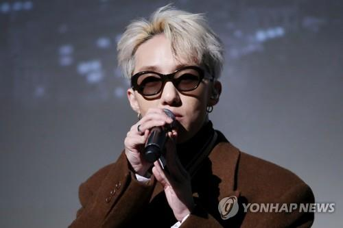 This file photo taken Dec. 4, 2017, shows signer-songwriter Zion.T. (Yonhap)
