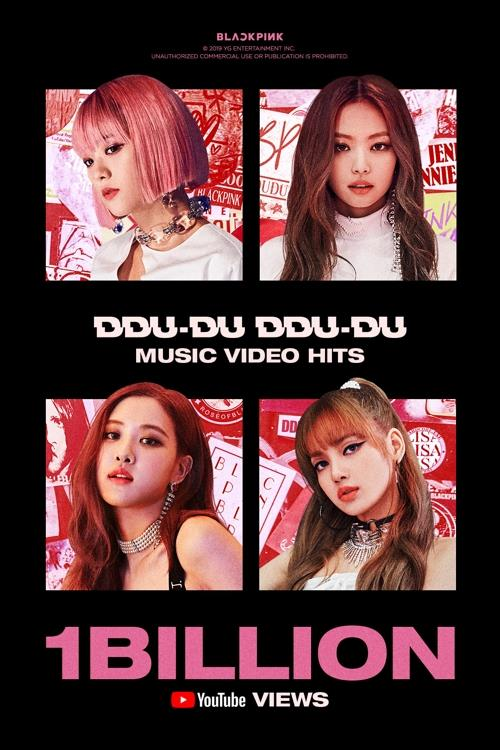 BLACKPINK becomes 1st K-pop group to have music video with over 1 bln YouTube views