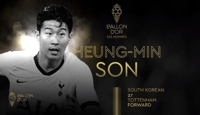 Son Heung-min becomes top Asian finisher in Ballon d'Or voting