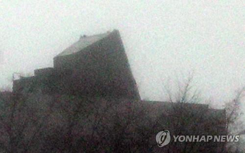 A Patriot missile battery is deployed at Mount Bukak in central Seoul on Jan. 7, 2019. (Yonhap)