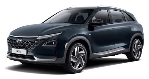 This file photo provided by Hyundai Motor shows the Nexo hydrogen fuel cell electric vehicle. (PHOTO NOT FOR SALE) (Yonhap)