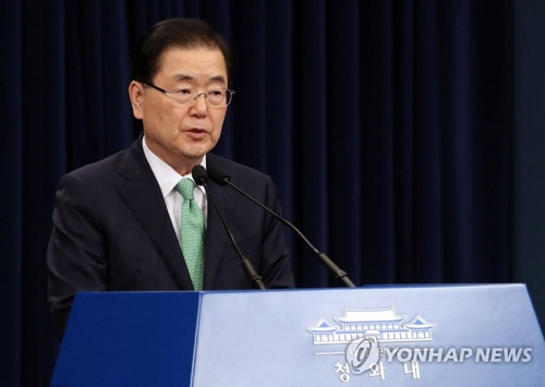 Hasil gambar untuk (2nd LD) S. Korean ministers voice strong concern about N. Korean military's continued 'strike drills'