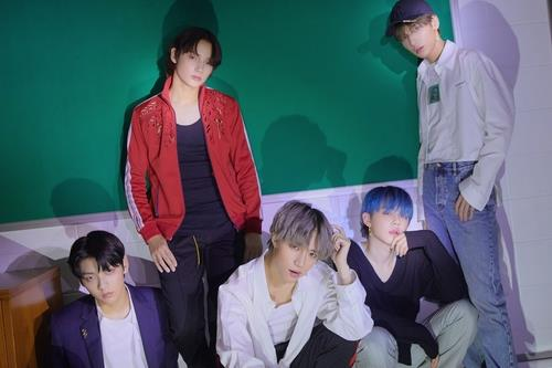 An image of Tomorrow X Together, provided by Big Hit Entertainment (PHOTO NOT FOR SALE) (Yonhap)