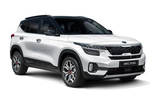 This file photo provided by Kia Motors shows the 2021 Seltos subcompact SUV. (PHOTO NOT FOR SALE) (Yonhap)