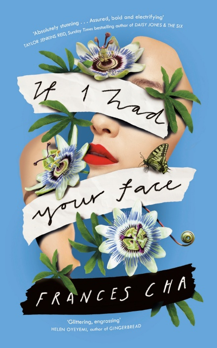 "The cover image for the British edition of ""If I Had Your Face"" by Frances Cha, published by Penguin Random House. Image provided by Penguin Random House Korea. (PHOTO NOT FOR SALE) (Yonhap)"