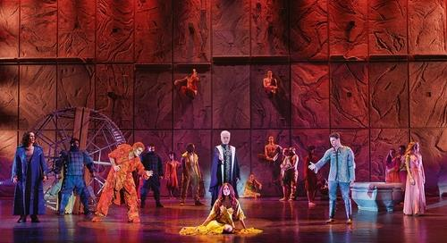 "A scene from musical ""Notre Dame de Paris"" provided by Mast Entertainment (PHOTO NOT FOR SALE) (Yonhap)"