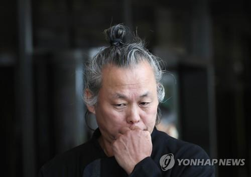 This undated file photo shows filmmaker Kim Ki-duk. (Yonhap)