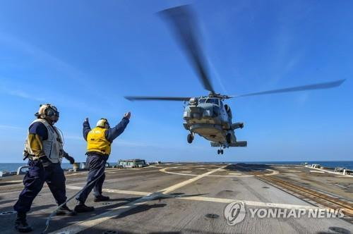 This undated file photo, captured from the U.S. Navy's website, shows Sikorsky's MH-60R Seahawk chopper. (PHOTO NOT FOR SALE) (Yonhap)