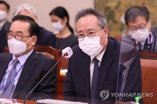 This file photo, taken on Oct. 22, 2020, shows Oh Seok-geun, the chairman of the Korean Film Council. (Yonhap)