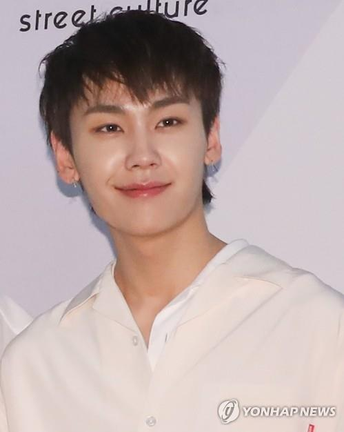 This file photo shows K-pop boy group BTOB's member Jung Il-hoon. He was referred to the prosecution in July on charges of smoking marijuana. (Yonhap)