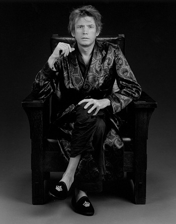 "This image, provided by Kukje Gallery, shows Robert Mapplethorpe's work ""Self Portrait"" (1988). (PHOTO NOT FOR SALE) (Yonhap)"