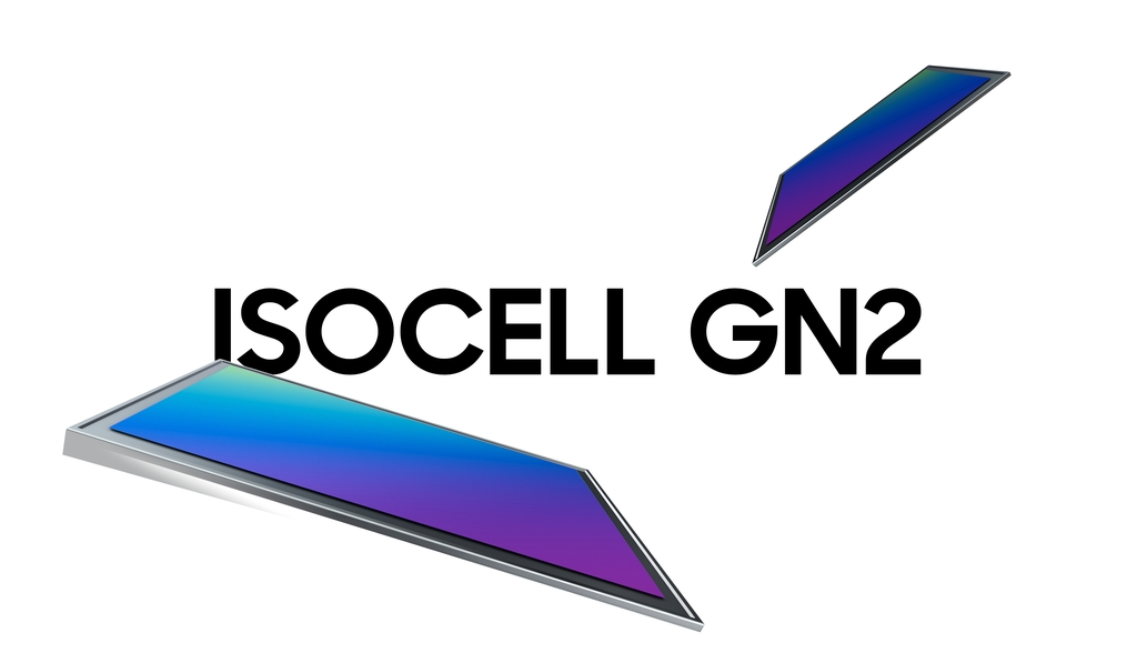 This image, provided by Samsung Electronics Co. on Feb. 23, 2021, shows the company's new image sensor, the ISOCELL GN2. (PHOTO NOT FOR SALE) (Yonhap)