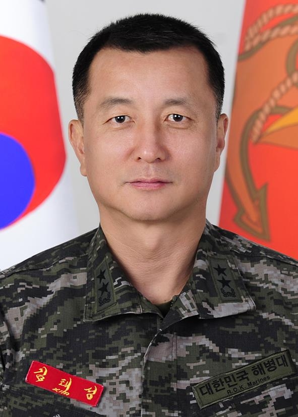 This photo provided by the defense ministry shows Maj. Gen. Kim Tae-sung. (PHOTO NOT FOR SALE) (Yonhap)