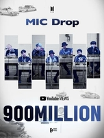 'MIC Drop' becomes 5th BTS video to top 900 mln views