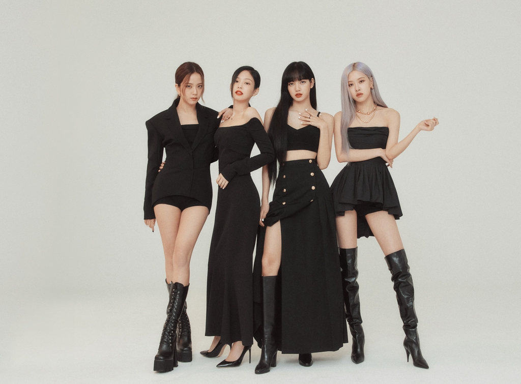 This photo, provided by YG Entertainment, shows K-pop group BLACKPINK. (PHOTO NOT FOR SALE) (Yonhap)